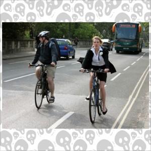 自転車の離合