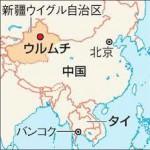 ウルムチ地図